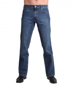 WRANGLER Stretch Bootcut-Jeans JACKSVILLE W15BKN34H Blue Heat
