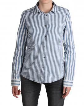 LTB Damen Hemd-Bluse ALIYAH 60740-51483 Blue Skyline Wash