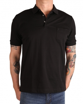 MARVELiS 6420-12-68 Funktions Polo T-Shirt schwarz