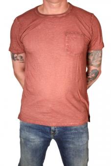Garcia H71201-2286 Herren T-Shirt R-A uni Tuscan