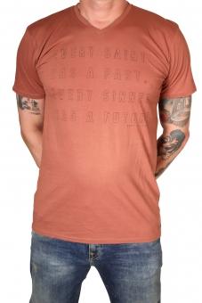 Garcia H71203-2286 Herren T-Shirt V-A Tuscan
