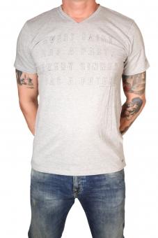 Garcia H71203-66  Herren T-Shirt V-A Grey Melee