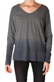 LTB Damen Shirt langarm NOFANE 81264-218 Dark Grey Mel