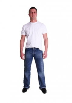 BUCK`s - Jeans BJ02 Bootcut blue-stone-crafted Tinmen