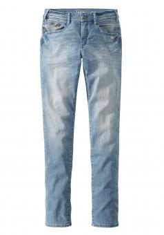 Paddocks Damen Slim Jeans LUCY 60388-5085 blurred light vintage blue