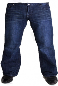 BUCK`s - Jeans BJ02 Bootcut rinsed-used Tinmen