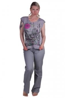 PIONEER 2679-3776-14 Sommer Stretch-Jeans PAT grau