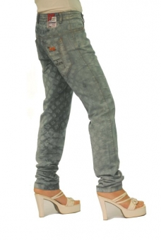 BUCK`s - LOHAS BJ90 Limited No.29 Öko Röhrenjeans 27/32 blue -Miss twy-