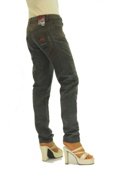 BUCK`s - LOHAS BJ74 Limited No.13 Öko Röhrenjeans 29/31 anthra. -Miss twy-