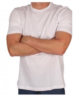 MARVELiS 2816 Premium T-Shirt weiss Rundhals