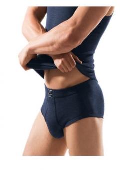 ESGE Art. 420 Herren Jeans-Feinripp Sportslip mit Eingriff