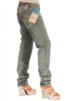BUCK`s - LOHAS BJ110 Limited No.49 Öko Röhren/Schlag Jeans 29/34 blue -Miss twy-