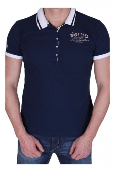 Pioneer 6157-2085-598 Pikkee Polo T-Shirt actic-blue