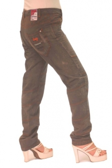 BUCK`s - LOHAS BJ92 Limited No.31 Öko Röhrenjeans 31/30 anthra. -Miss twy-