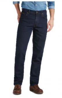 WRANGLER  Stretch-Jeans TEXAS W121-75-001 blue-black