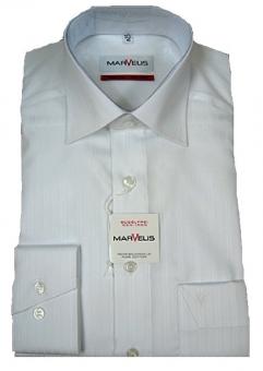 MARVELiS-Hemd 4948-64 langarm - structure -