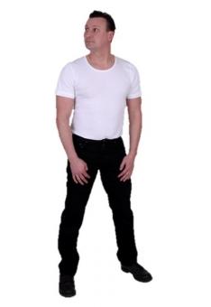 OKLAHOMA-Jeans R140 black ROCKY (501-Schnitt)