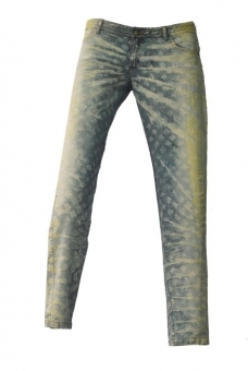 BUCK`s - LOHAS BJ142 Limited No.116 Öko Röhrenjeans 32/34 bleached -Miss twy-