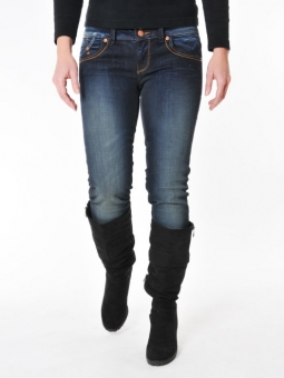 LTB 5065-1556 MOLLY soul-wash Stretch Röhren-Jeans