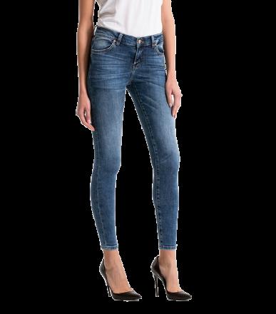 LTB 51032-51787 LONIA Sior Undamaged Wash Damen Stretch Skinny Jeans W25 | L28