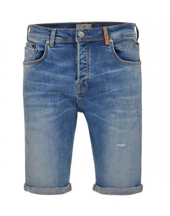 LTB Jeans Herren Corvin Shorts 60487-53199 Storm Blue Wash