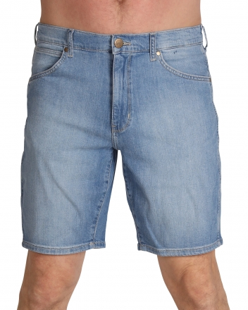 WRANGLER Stretch Denim Short W14CQA20L Sky Hi