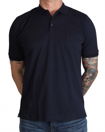 MARVELiS 6410-32-18 Funktions Polo T-Shirt marine 50/M