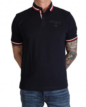 MARVELiS 6412-32-18 Pique Polo T-Shirt halbarm marine 48/S
