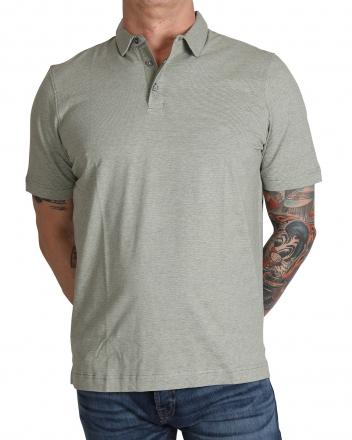 MARVELiS 6418-32-48 Jersey Polo T-Shirt graugrün