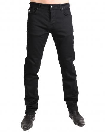 LTB Jeans Herren Paul D Straight Jeans, Schwarz (New to Black Wash) W33 | L36