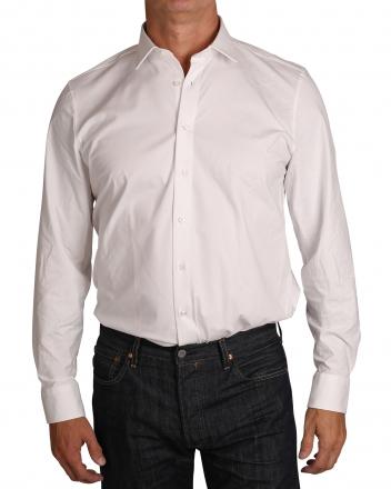 MARVELiS Jerseyhemd Modern Fit 7262-84-00 weiss langarm