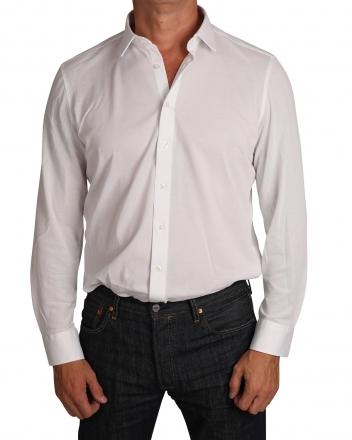 MARVELiS Jerseyhemd Modern Fit 7264-84-00 weiss Strukturiert 38