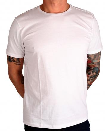 MARVELiS Herren T-Shirt 6630-72-00 R-A uni weiß 48/S