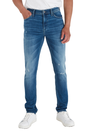 Blend Herren Echo Skinny Fit-Noos Jeans middle blue W29 | L30