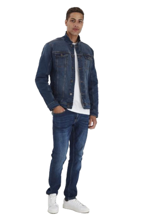 Blend Herren Jeansjacke 20710737-200292 Denim dark blue 48/S
