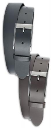Götz Ledergürtel XXL 351145 3,5cm breit Überlänge schwarz | 120