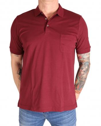MARVELiS 6410-32-37 Funktions Polo T-Shirt bordeaux