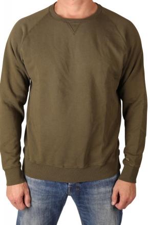 Garcia Z1060-1970 Herren Sweatshirt uni R-A Base Army