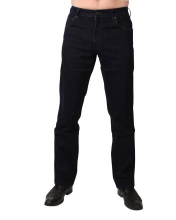 Wrangler Stretch-Jeans Texas W121QC77D Black Back