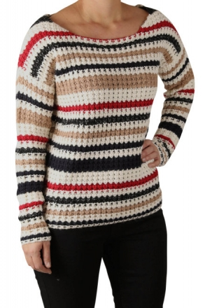 BlendShe 20200952-20006 Damen Pullover Snow White