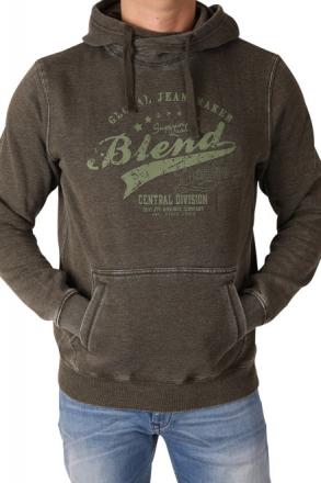 BLEND Herren Kapuzensweatshirt 20701620-77192 Green Ink