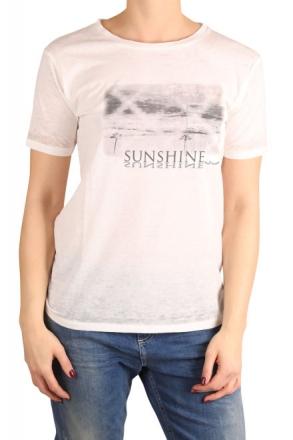 LTB Damen T-Shirt LASIYA 80182-100 White 34/XS