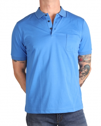 MARVELiS 6410-32-19 Funktions Polo T-Shirt royal 50/M