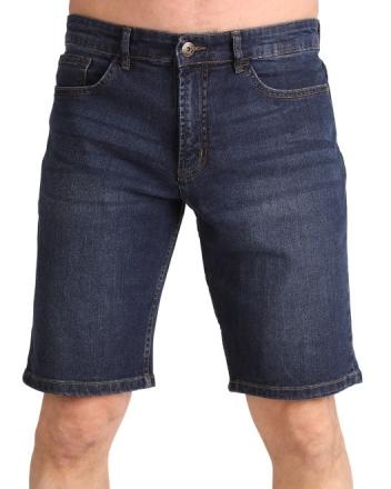 Marina Del Rey Übergrössen Herren Jeans Bermuda BEN MS Med Stone
