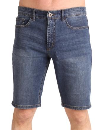Marina Del Rey Herren Jeans Bermuda BEN LS Light Stone