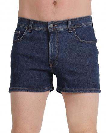 PIONEER Jeans Stretch-Short 1330-9733-04 Dark Stone/dunkelblau