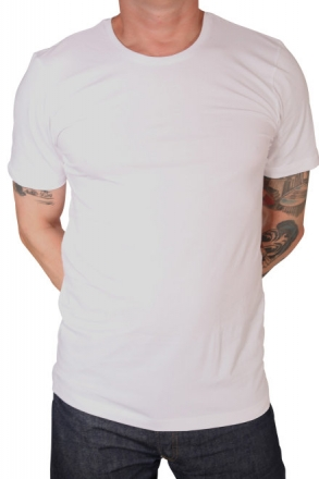 MARVELiS 2822-00-00 BODY FIT T-Shirt R-A weiß 48/S