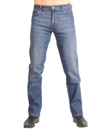 Wrangler Stretch-Jeans Texas W1212325F Indigo Wit