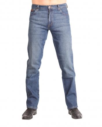 Wrangler Stretch-Jeans Texas W1212325F Indigo Wit