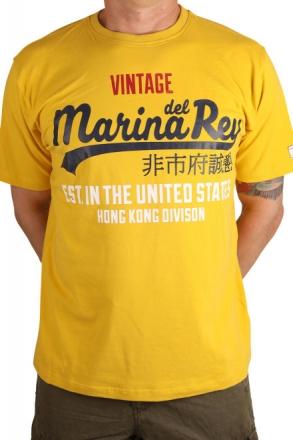 Marina Del Rey Herren T-Shirt  Tom 25 199 gelb